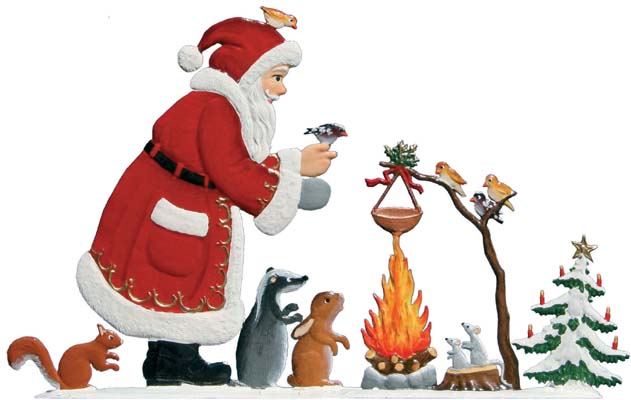 A Woodland Christmas – 5 1/4 x 3″