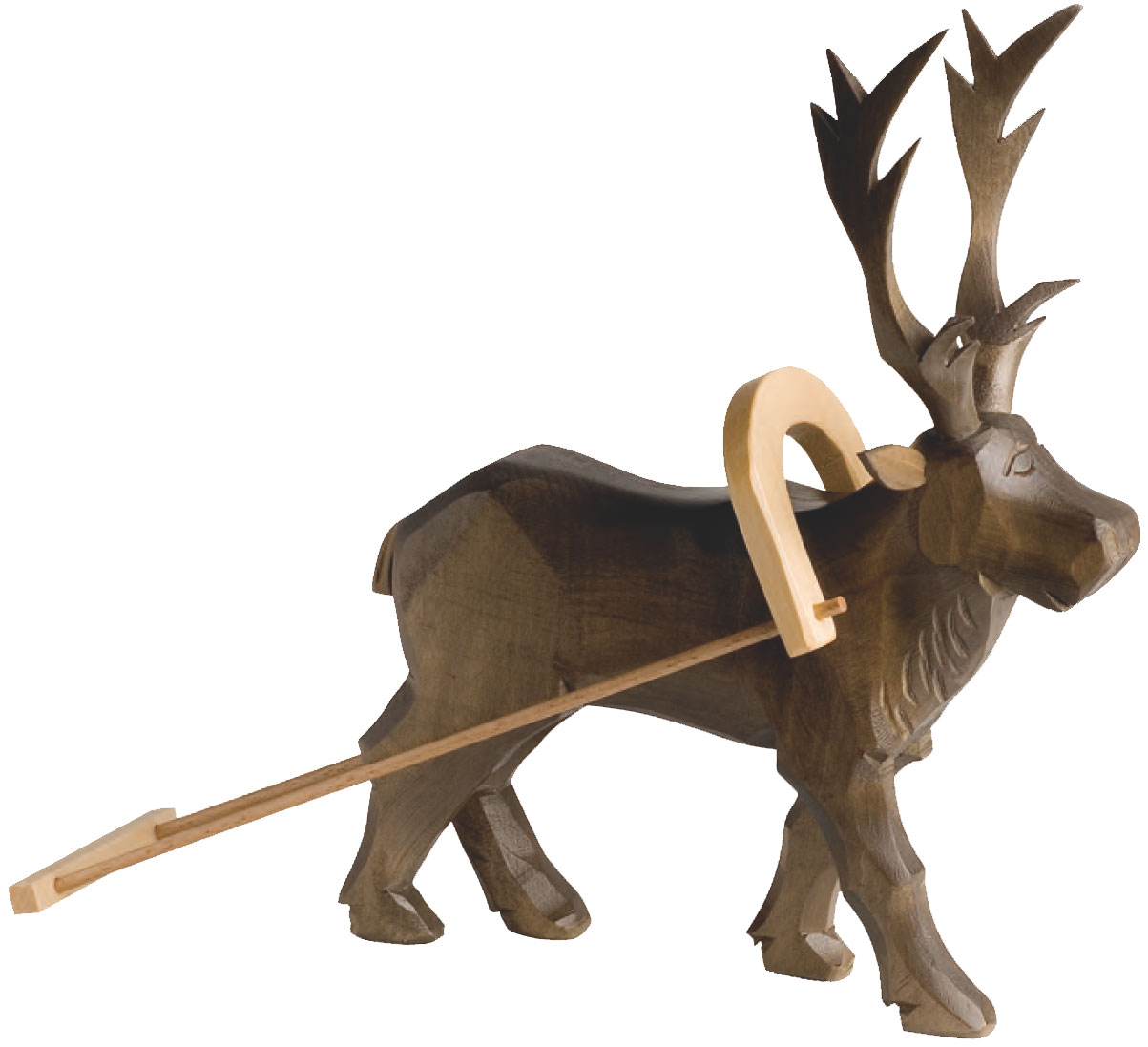 Carved Reindeer for #21611 Large Sledge – 9.5″