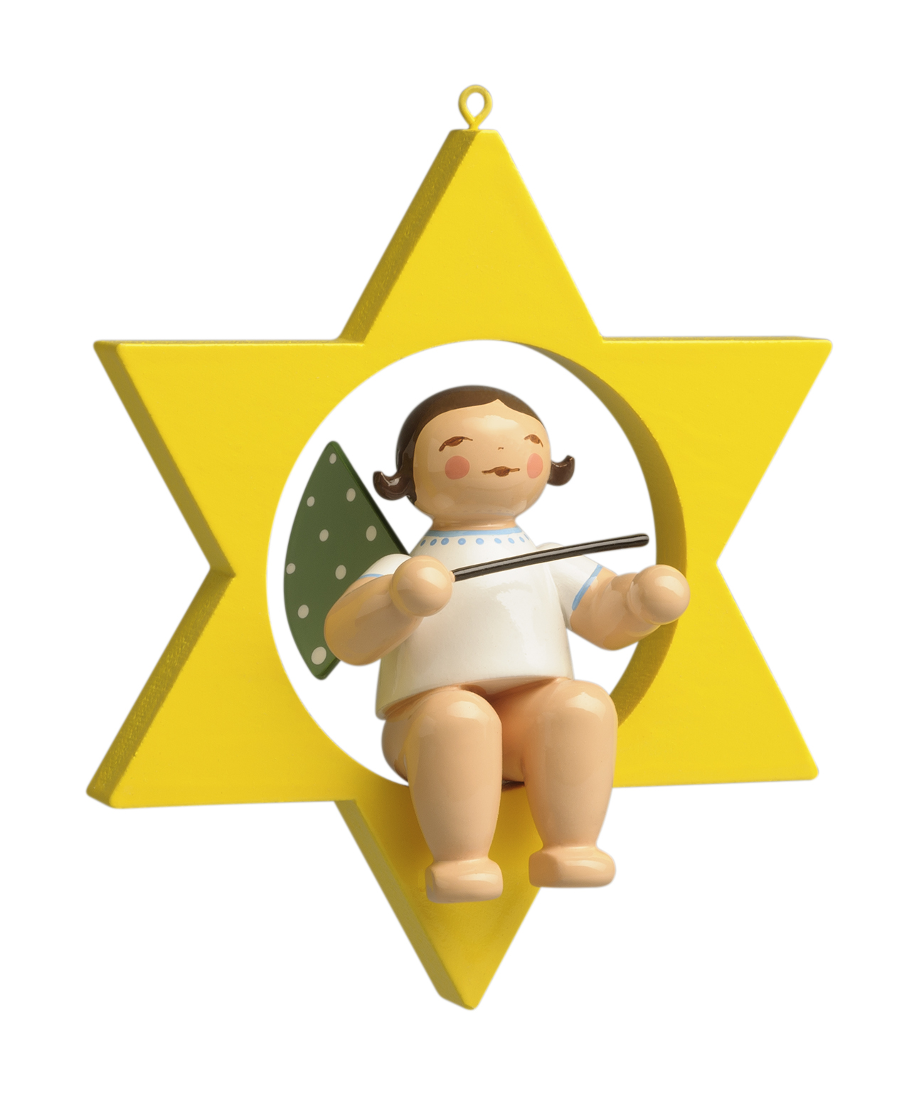 Angel with Baton, in Star – 2.75″