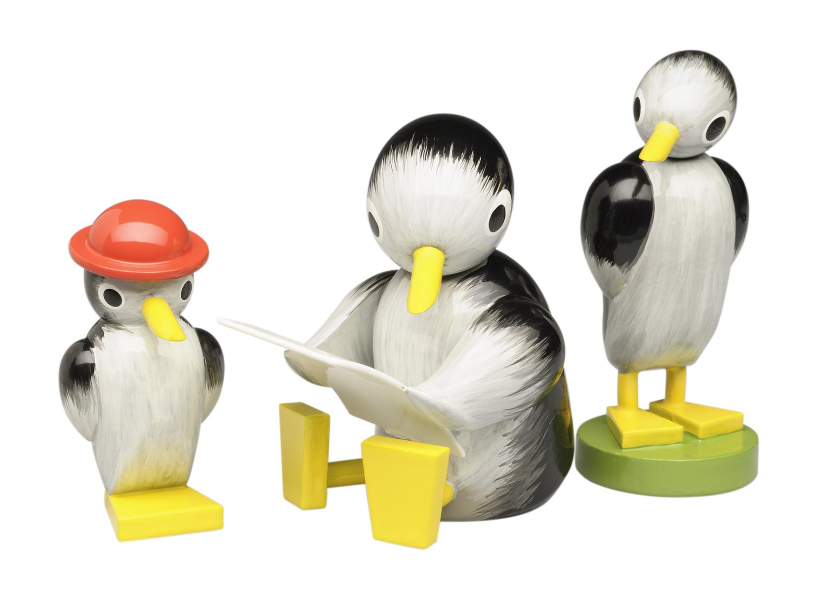 Set of Three Penguins – 1.5″ – 2.25″