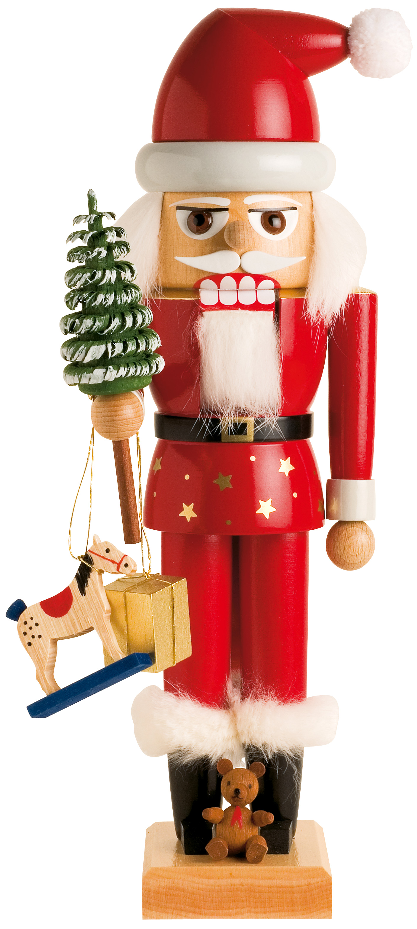 KWO Santa Nutcracker – 11.4″- Good w/Mrs.Santa, 19350