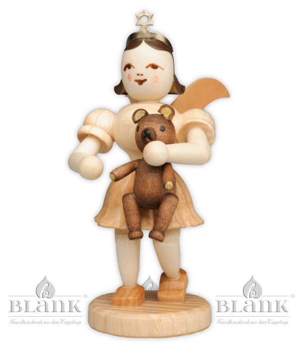 Special Pleated Skirt Angel with Teddy – 3″