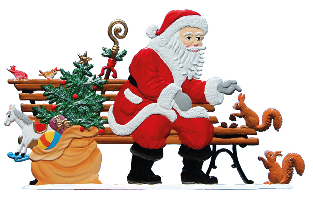 In the Park With Santa – 5.5 x 3.25″